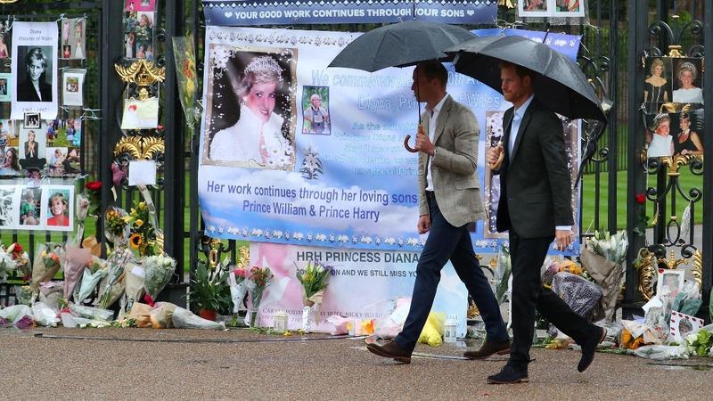 INSIGHT: Princes mark 20 years since Princess Diana's death