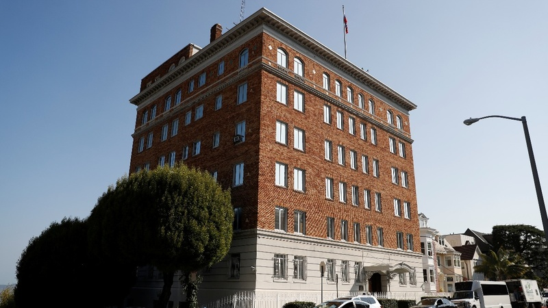 U.S. orders Russian diplomatic buildings closed