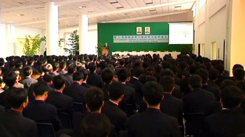 U.S. travel ban hits Pyongyang university hard