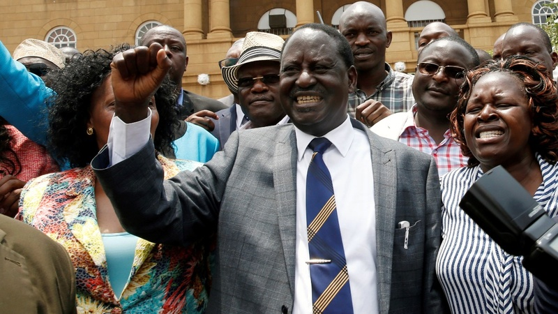Kenya Supreme Court says presidential election invalid