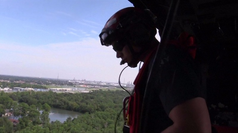 INSIGHT: Helicopter rescues for Harvey-stranded families