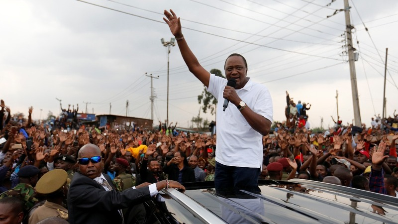 Kenyan president says ready for elections