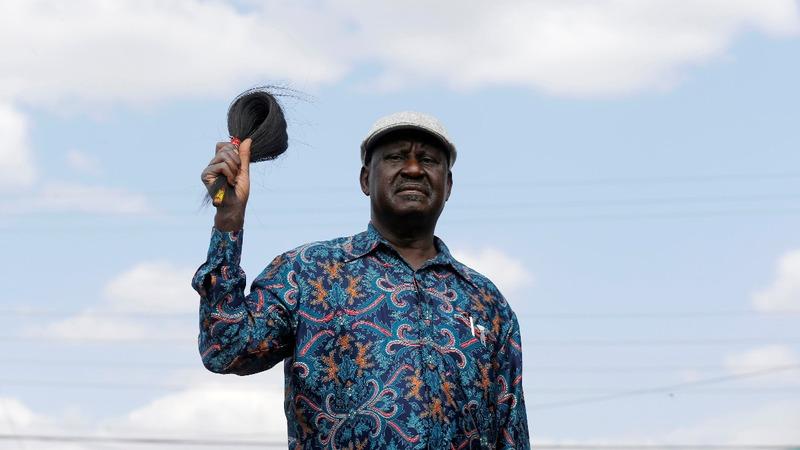 Kenya's opposition leader refuses to share power
