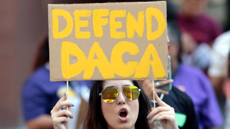Trump gives Congress 6 months to replace 'Dreamers' program