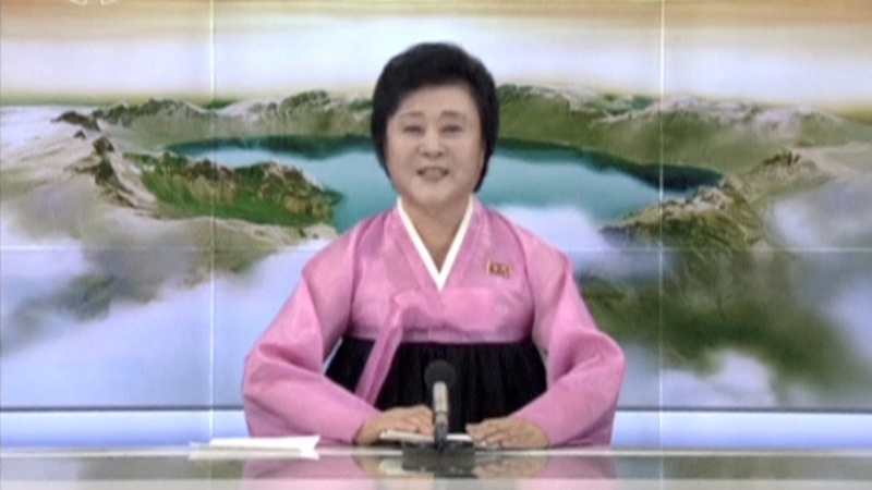 N. Korea news anchor: Voice of triumph and doom