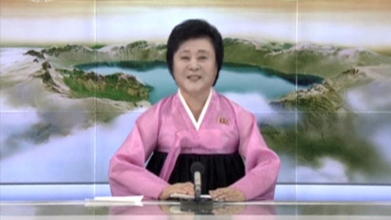 N. Korea news anchor: Voice of triumph and doom