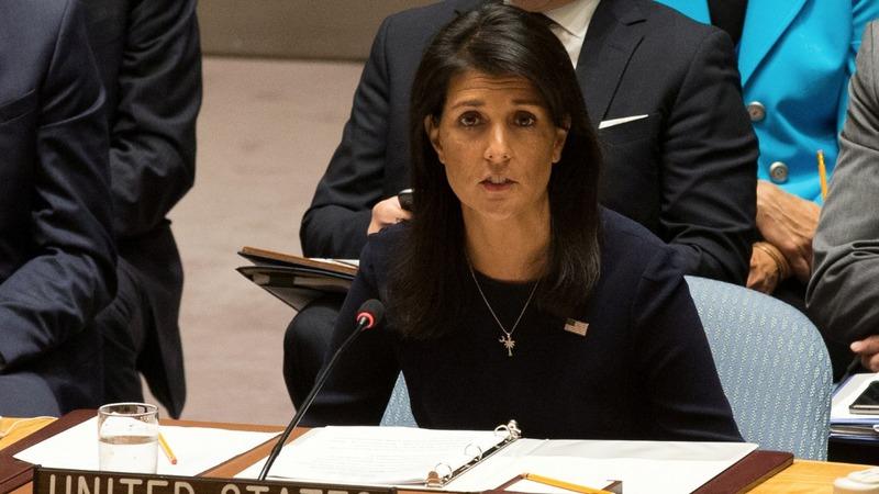 Haley calls for strongest UN sanctions against N.Korea