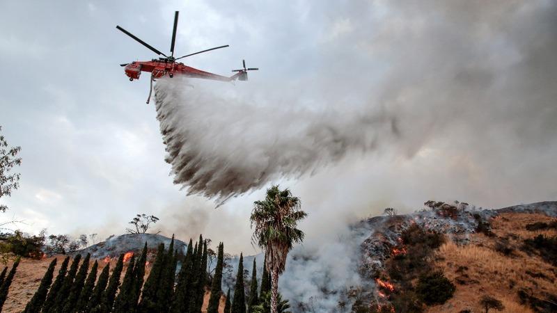 Despite turning corner on fire, Los Angeles remains on edge