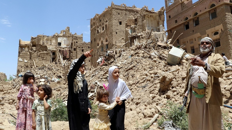 Yemen catastrophe 'entirely man-made' - U.N.