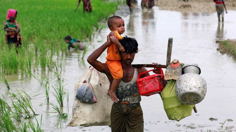 Fleeing Myanmar: through the eyes of the Rohingya