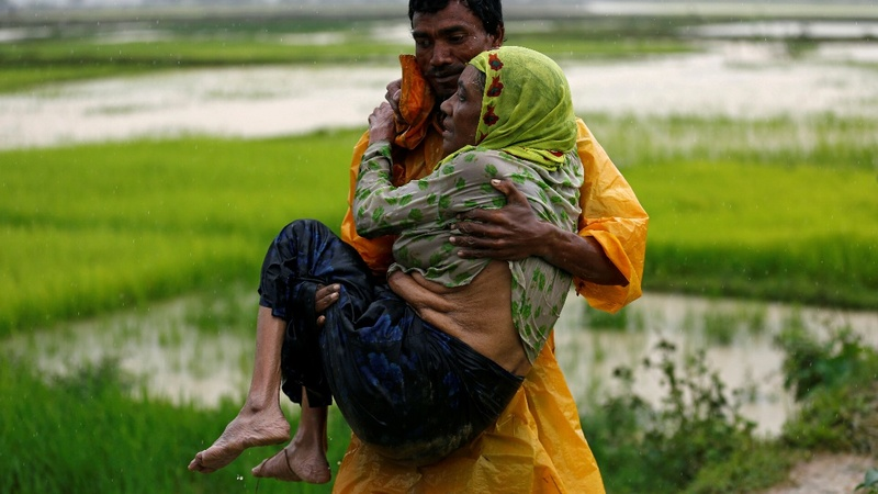 Myanmar blames 'terrorists' for Rohingya 'misinformation'