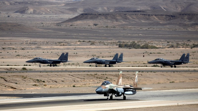 Syrian army says Israel hit military site