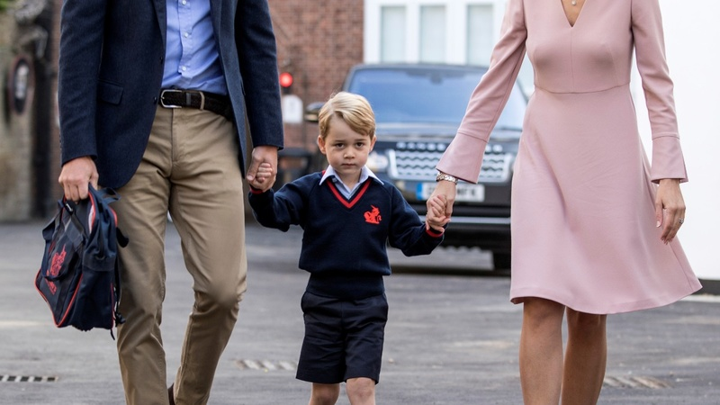 INSIGHT: Prince George on his first day of school