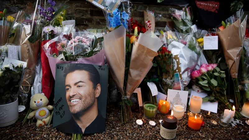 Remix brings back George Michael's voice