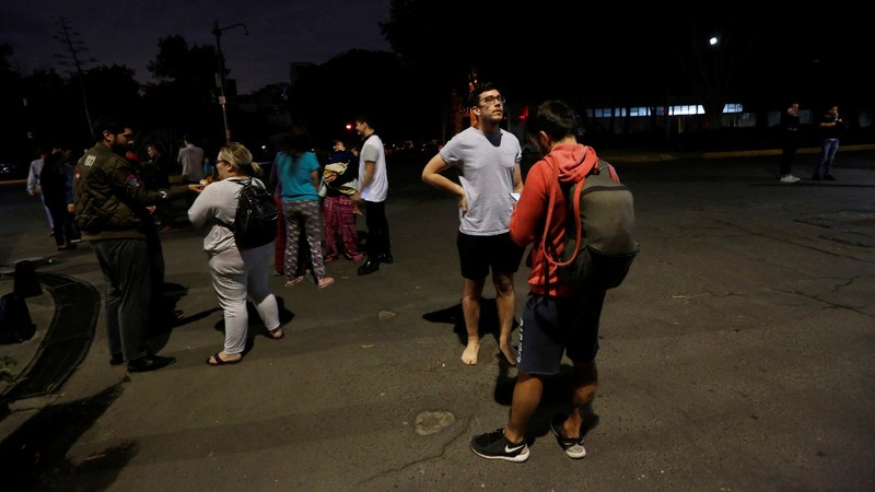 Magnitude 8 earthquake hits Mexico