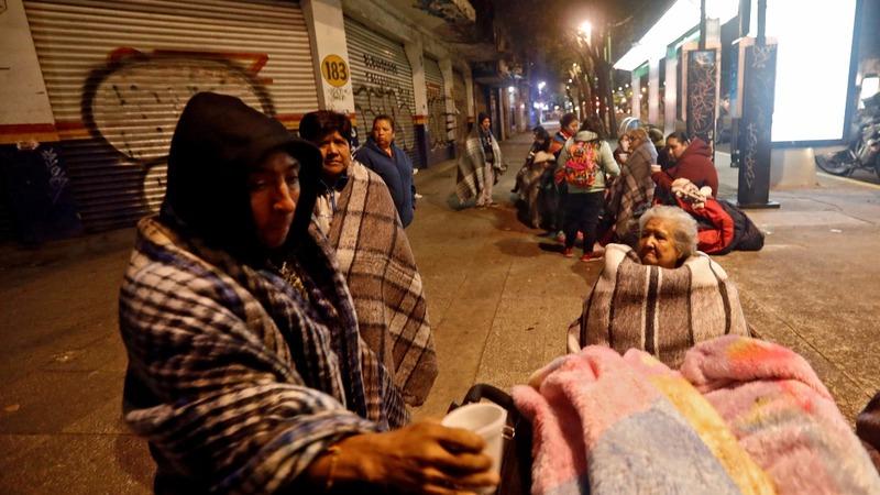 Quake kills at least 32 in Mexico