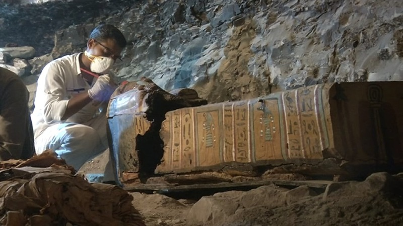 INSIGHT: Egypt discovers 3,500 year old tomb