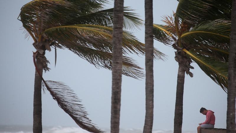 In Florida, Irma preps highlight split over climate change