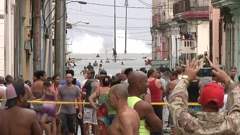 INSIGHT: Irma floods Havana's streets