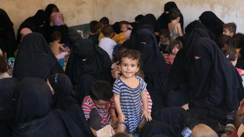 Hundreds of foreign wives of ISIS fighters held in Iraq