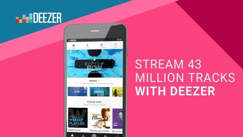 Deezer seeks musical edge on Spotify