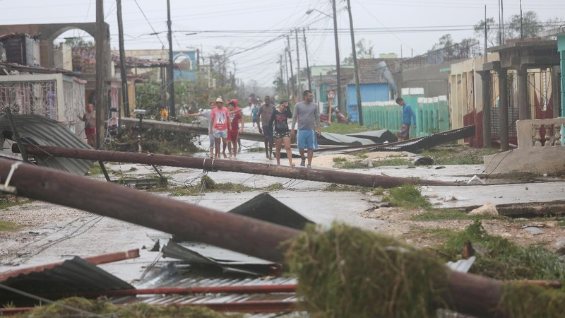 Chaos in Caribbean as islands struggle to rebuild from Irma