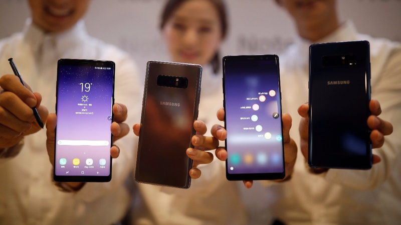 Samsung says Note 8 pre-orders are breaking records