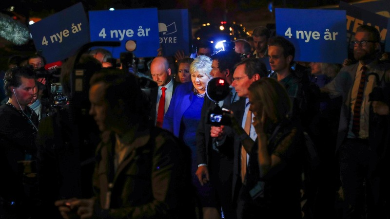 Norway conservatives win close election
