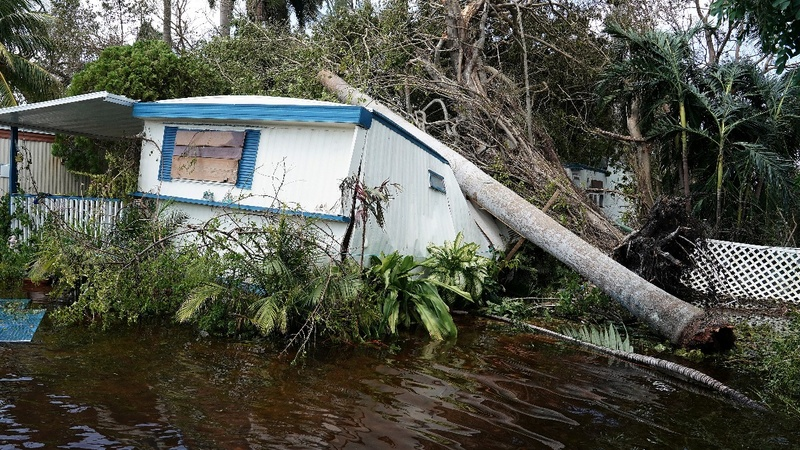 Painful images of Florida Keys as few residents granted entry