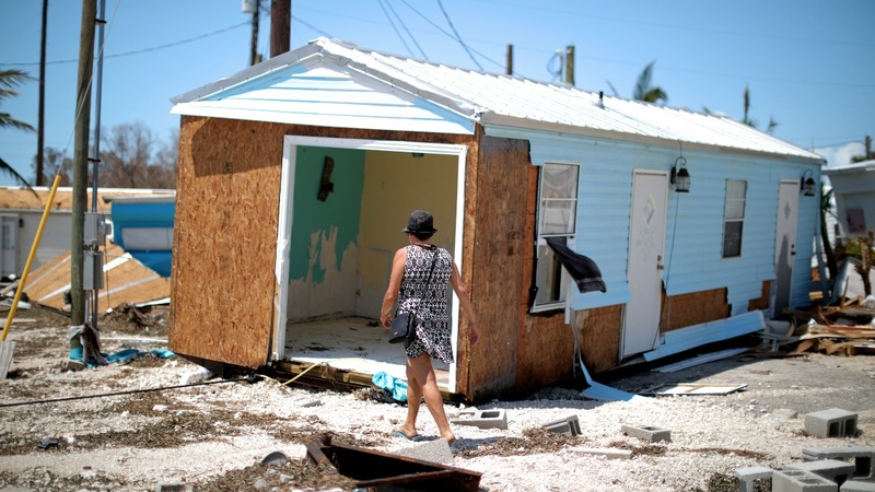 Florida Keys residents survey the damage
