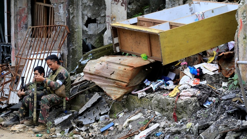 Philippine siege leaves Marawi City in ruins