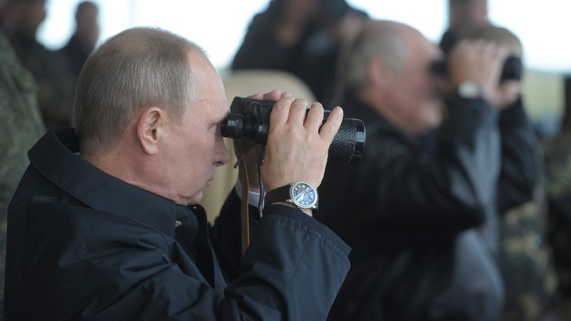 Russian war games put West on edge