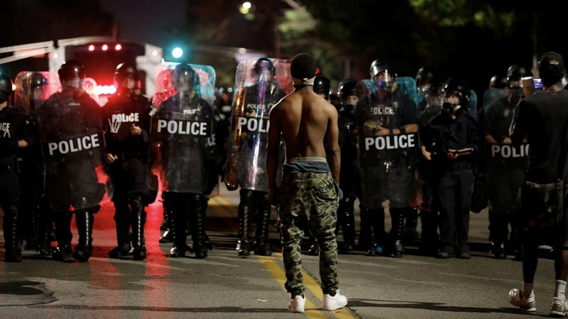 Clashes in St. Louis after ex-cop acquitted of murder