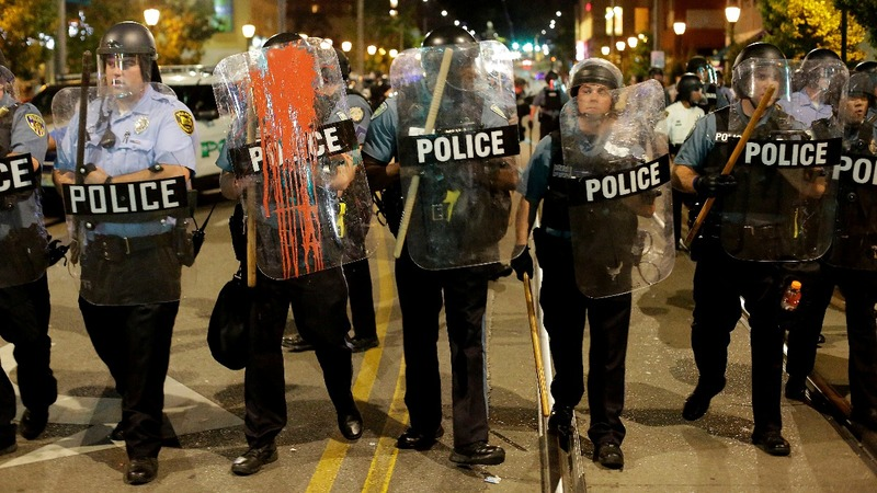 9 arrests after 2nd night of St. Louis protests