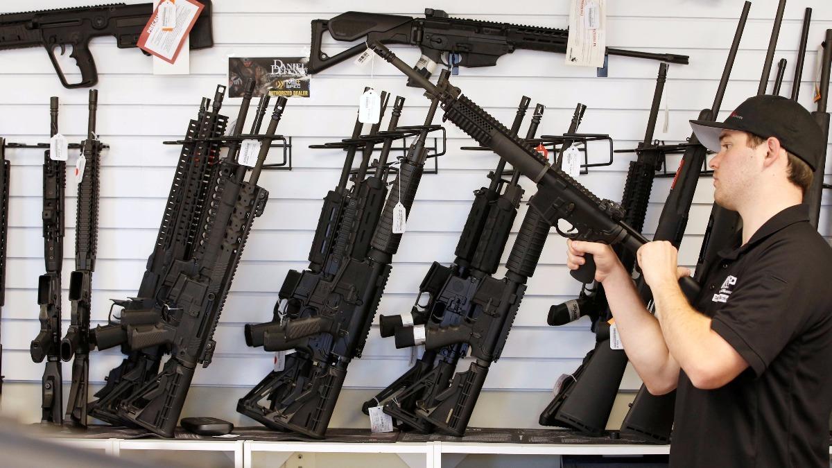 Trump admin making it easier to sell U.S. guns overseas - Reuters TV