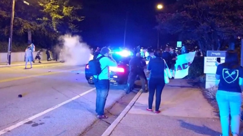 Violence breaks out at Georgia Tech in wake of student death