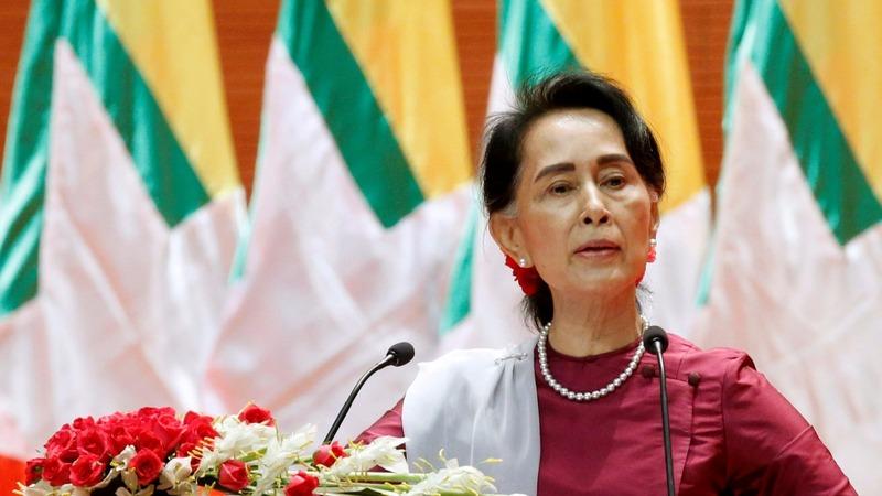 Myanmar's Suu Kyi sidesteps criticism on Rohingya