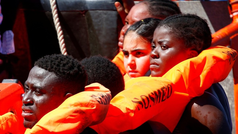 Migrants 'lucky' to dodge Libyan coastal clampdown