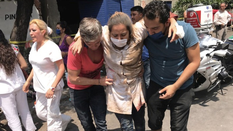 Major earthquake hits Mexico, death toll rises