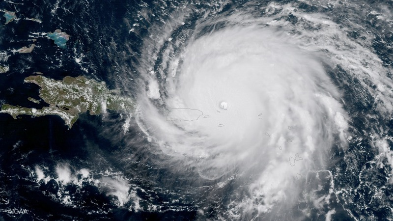 Hurricane Maria bears down on Puerto Rico