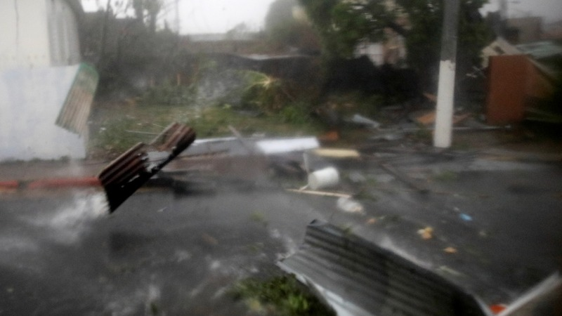 Maria blasts Puerto Rico, kills at least 9 in Caribbean