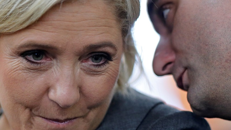 More chaos within France's top far-right party