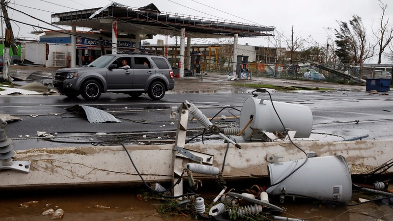 Hurricane Maria wreaks havoc on Puerto Rico