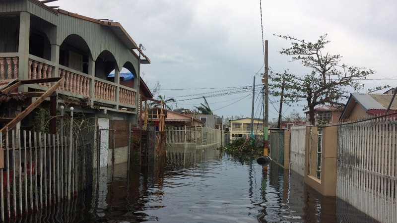 Maria turns a Puerto Rico neighborhood into 'Venice'