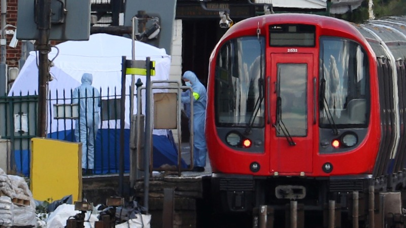 Teenager in court over London train bomb attack