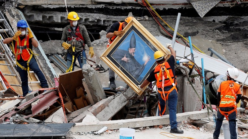 Rescue work suspended after latest Mexico quake