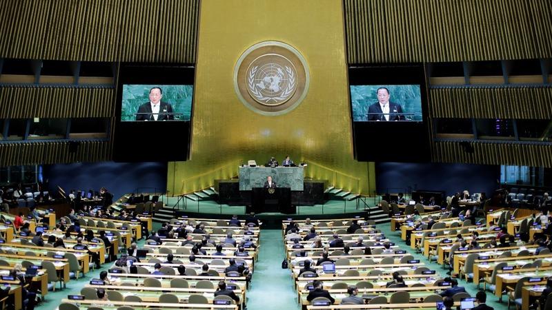 Trump tweets threats against N.Korea after U.N. speech