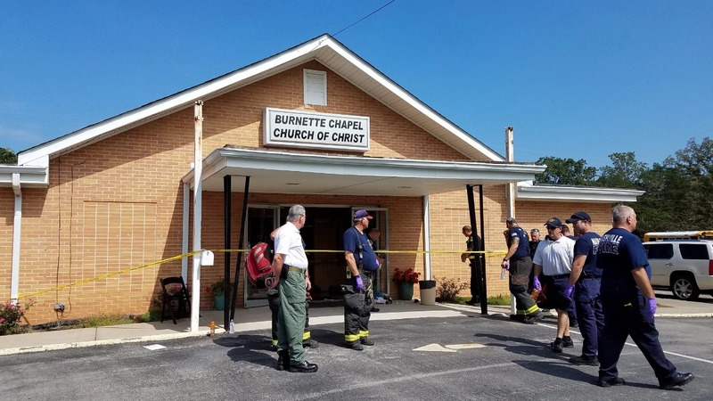 Masked gunman goes on shooting spree in Nashville church