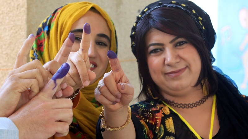 Iraqi Kurds stage independence referendum