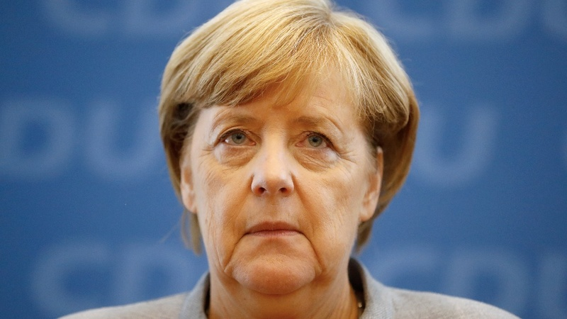 German far right to 'hound' re-elected Merkel